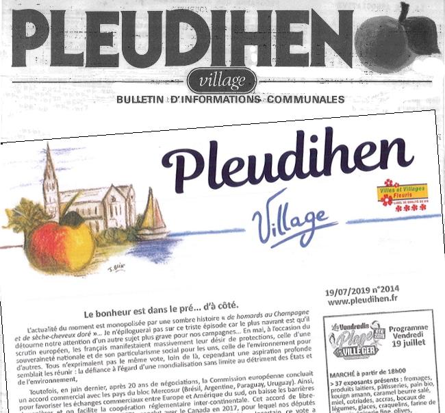 Création de Pleudihen-Village